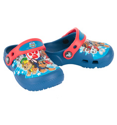 Сабо Crocs FunLab Paw Patrol Clogs PS B BlJ, цвет: синий