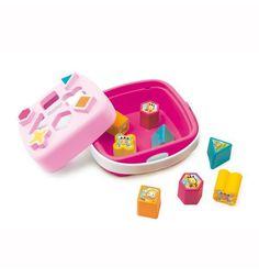 Развивающая игрушка Smoby Сортер-корзинка, розовая