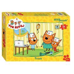 Пазл Step Puzzle Три кота