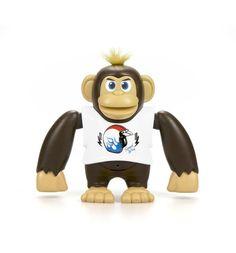 Интерактивная игрушка Silverlit Ycoo nFriends Обезьяна Чимпи, цвет: белый 15 см