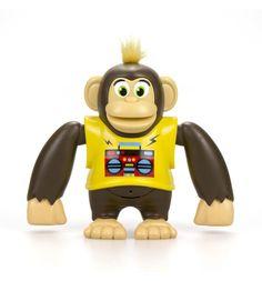 Интерактивная игрушка Silverlit Ycoo nFriends Обезьяна Чимпи, цвет: желтый 15 см