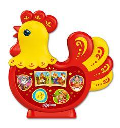 Интерактивная игрушка Азбукварик Петушок-золотой гребешок Любимая сказочка
