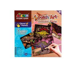 Набор для создания гравюры Avenir Мир динозавров