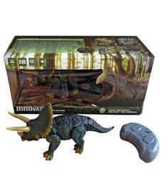 Игрушка на радиоуправлении Наша Игрушка Динозавр 2 канала, свет, звук, ИК пульт-заряд.устройство, встроен.аккум.