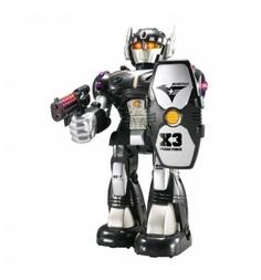 Интерактивная игрушка Hap-p-Kid Робот-воин черный красный