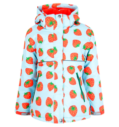 Куртка Dudelf, цвет: голубой/красный