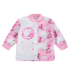 Кофта Babyglory Волшебные моменты, цвет: розовый