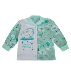Кофта Babyglory Волшебные моменты, цвет: бирюзовый