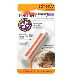 Игрушка для собак Petstages с ароматом косточки, 8 см очень маленькая