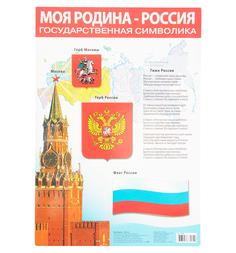 Плакат Дрофа Моя Родина - Россия