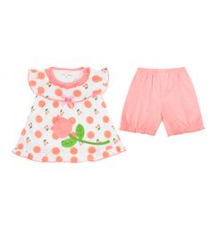 Комплект футболка/бриджи Bony Kids, цвет: мультиколор