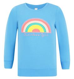 Джемпер Милашка Сьюзи, цвет: голубой