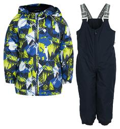 Комплект куртка/брюки Huppa Avery 1, цвет: синий
