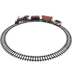 Игровой набор Tongde Эпоха железных дорог 420 см