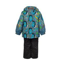 Комплект куртка/полукомбинезон Oldos Арни, цвет: синий