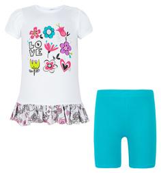 Комплект платье/бриджи Koala, цвет: белый