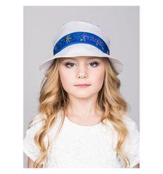 Шляпа Levelpro Kids, цвет: белый/синий