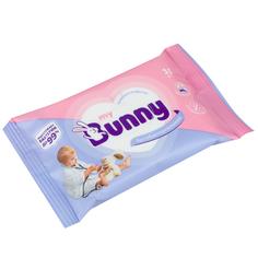 Влажные салфетки My Bunny антибактериальные, 15 шт