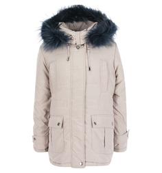 Куртка Artel, цвет: серый/бежевый