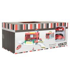 Игровой набор S+S Toys Пожарный пит-стоп
