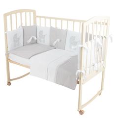 Комплект постельного белья Leader Kids Моя мечта, цвет: серый