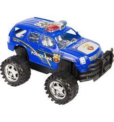 Машинка Игруша синий джип