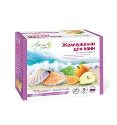 Набор Аромафабрика Жемчуженки для ванн своими руками Фруктовое конфетти