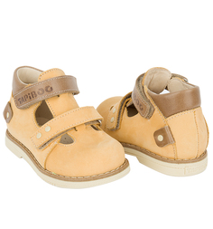 Туфли Tapiboo Нарцисс, цвет: желтый/коричневый