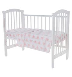 Комплект постельного белья Leader Kids Фея-балерина, цвет: розовый