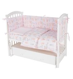 Комплект постельного белья Leader Kids 7 предметов, цвет: розовый