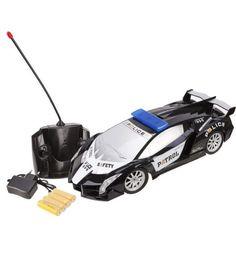 Машинка на радиоуправлении Наша Игрушка Полиция 32 см 1 : 12