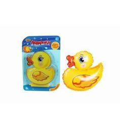 Игрушка для ванны Наша Игрушка Утенок-неваляшка