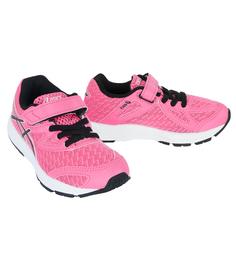 Кроссовки Asics, цвет: розовый