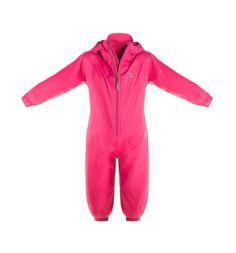 Комбинезон Hippychick дождевик, цвет: розовый