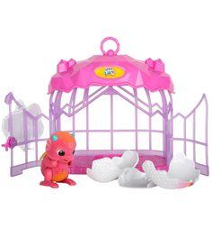 Интерактивная игрушка Little Live Pets Дракончик в клетке,