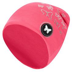 Шапка Levelpro Kids Шеврон бабочка, цвет: розовый