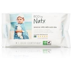 Влажные салфетки Naty Алоэ, 56 шт
