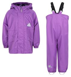 Комплект куртка/полукомбинезон Saima, цвет: фиолетовый