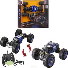 Игрушечная машинка Пламенный мотор Вездеход трюковой синий 33.5 х 18 х 7 см
