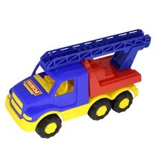 Машинка Полесье Гоша Пожарная спецмашина синяя 18 см