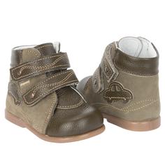 Ботинки Скороход, цвет: зеленый