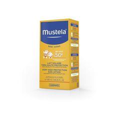 Молочко для тела Mustela солнцезащитное SPF 50+, 100 мл
