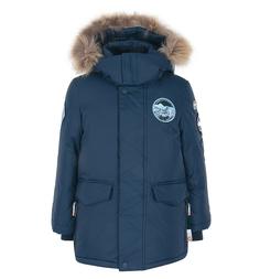 Куртка Nels Lari, цвет: синий
