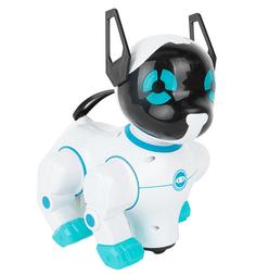 Интерактивная игрушка Игруша Собака электромеханическая голубая 20 см