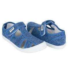Туфли текстильные Mursu, цвет: синий