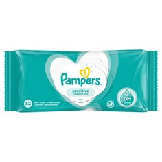 Влажные салфетки Pampers Sensitive Single, 52 шт
