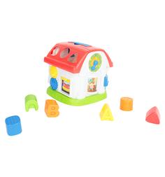 Развивающая игрушка Winfun Домик-сортер, свет+звук, 18 см