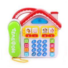 Телефон Наша Игрушка обучающий 20 х 5 х 19 см