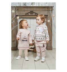 Джемпер Lucky Child Зимние каникулы, цвет: молочный/бежевый