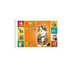 Альбом для рисования А4 24л Hatber Милые котята